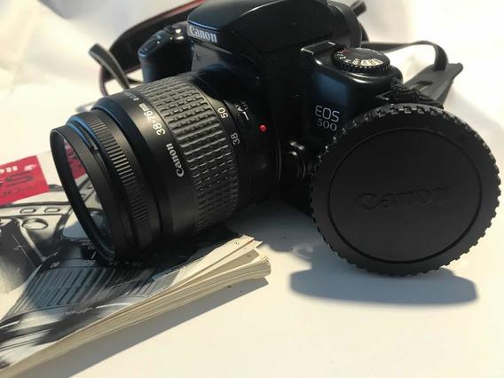 Máquina Fotográfica Cânon Eos 500/500qd