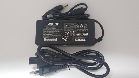 Fonte Carregador Asus A42f A42ja X401a X55c X55u 19v 3,42
