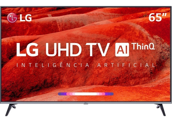 Smart Tv Led 65 Lg Um7520 Ultra Hd 4k Hdr Ativo Dts