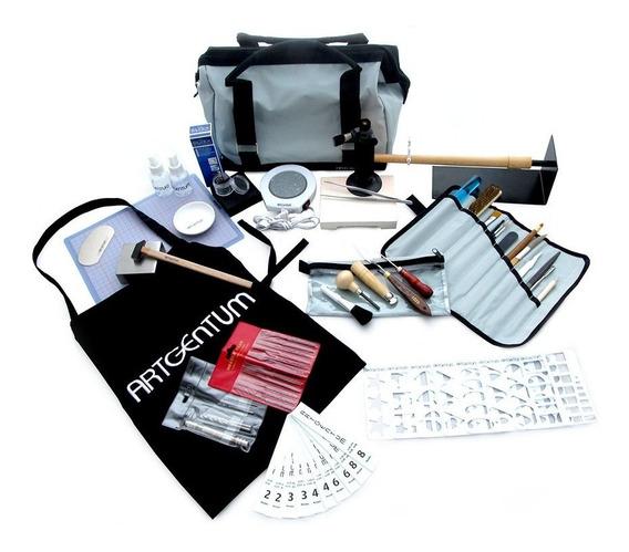 Kit Pro Herramientas,plata,libro Y Clase Virtual Metal Clay