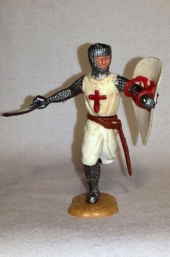 Timpo Toys Caballero Cruzado. Made In England. Años '70s