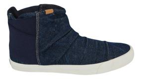 Tênis Keds Topkick Boot Jeans Marinho Kd104400336
