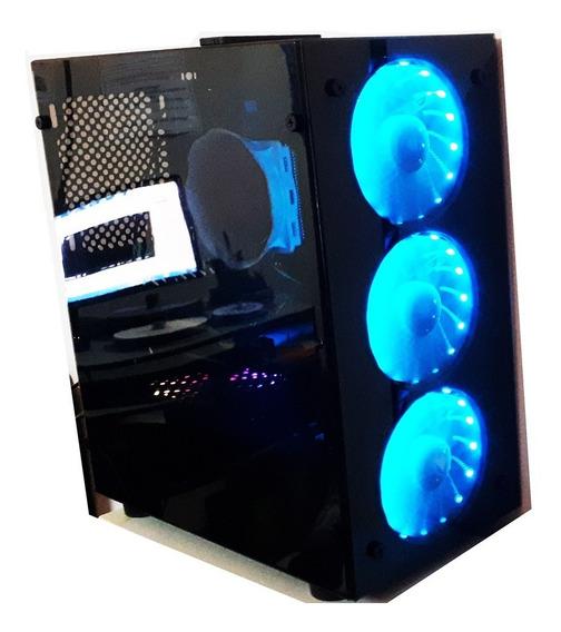 Pc Gamer Rgb Intel Xeon E3 1240 16gb Ssd120gb Hd1tb Gtx1060