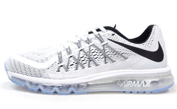 Tenis Nike Airmax Originales Blancos De Mujer Con Reflejante