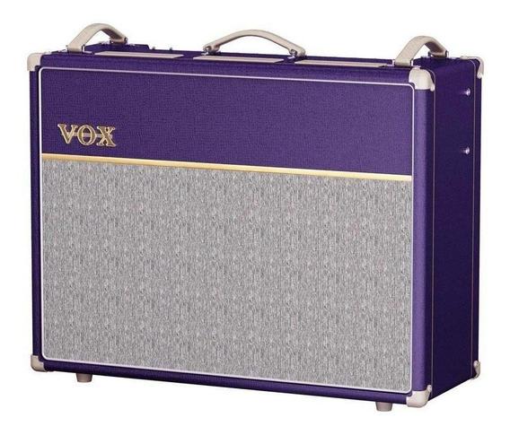 Amplificador VOX Custom Series AC30C2 30W valvular purple