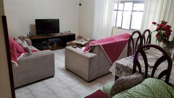 Casa Em Vila Jockei Clube, São Vicente/sp De 151m² 4 Quartos À Venda Por R$ 585.000,00 - Ca259982