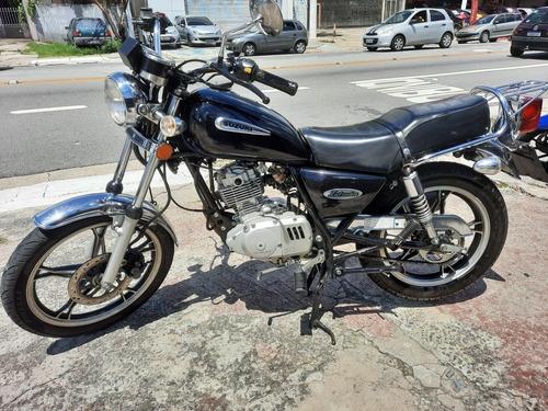 Jta Suzuki Intruder 125 Ano 2011 Preta