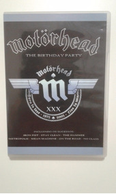 Dvd - Motörhead - The Birthday Party