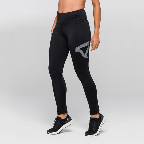Legging Authen Signature Black Surge Cores Alta Compressão