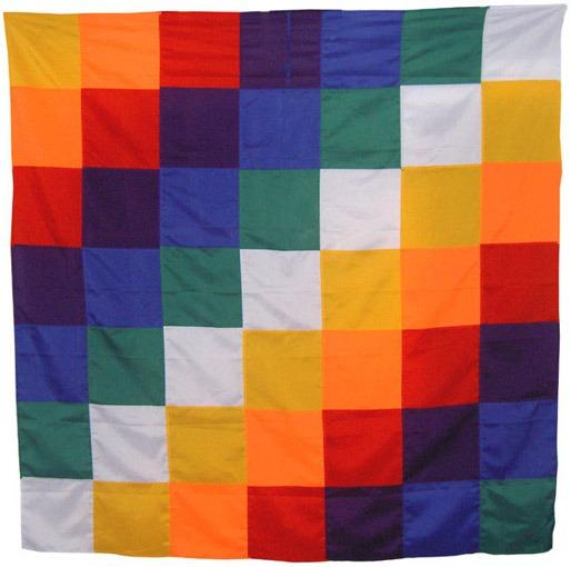 Wiphala - Bandera De Los Pueblos Originarios 200x200