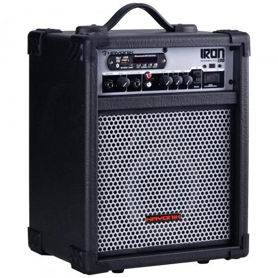 Caixa Amplificador Multiuso Hayonik Iron 200 - Refinado