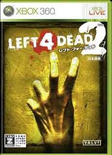 Juegos,left 4 Dead 2 Importación De Japón
