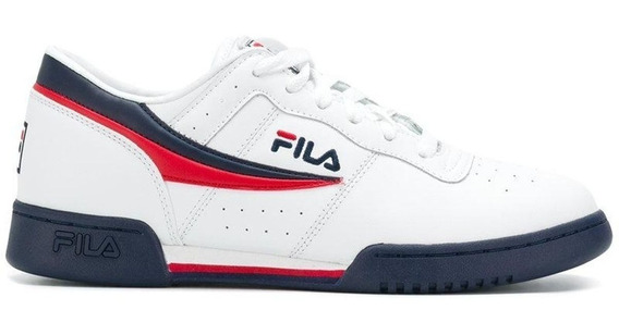 Tenis Fila Hombre Blanco Original Fitness Fw16 11f16lt150