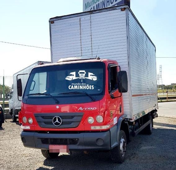 Mercedes-benz Accelo 815 Com Baú