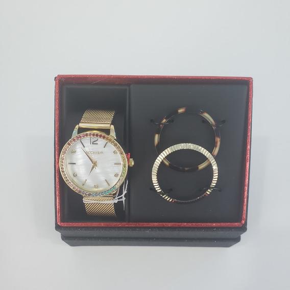 Reloj De Marca Rocawear Original Importado Usa Dorado