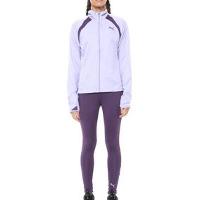 Agasalho Feminino Puma Yoga Inspired Suit - Roxo