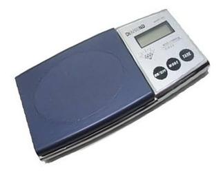 Mini Balança Digital Precisão Décimo D Grama 0,1g A 500g Pro