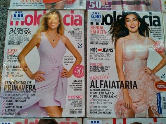 Kit 10 Revistas Molde & Cia . Novas E Lacradas. Ótimo Preço