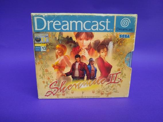 Shenmue 2 Europeu Dreamcast (leia A Descrição)
