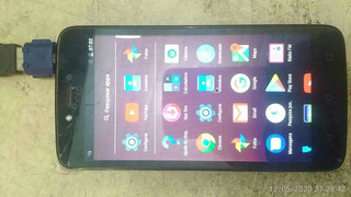 Celular Motorola C Plus Xt1726 1gb 16gb Tv Def.touch S/bater