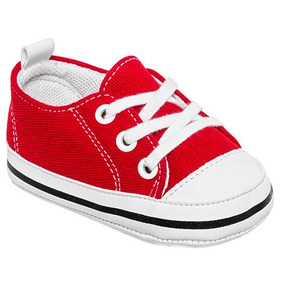 Tenis Sneaker Melokoton Niños Textil Rojo Blanco X12697 Dtt