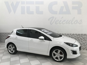 Peugeot 308 Feline 2.0 Flex 2013 Branco Automático