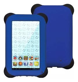 Tablet Kids Nb194 Azul Quad Core Dual Câm Wi-fi 7