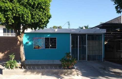 Casa En Venta, Col. Angel Glores A Media Cuadra De Figlos