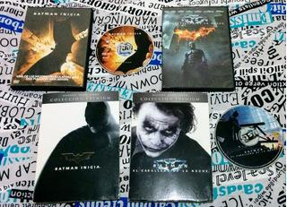 Batman Inicia + El Caballero De La Noche ( Premium )