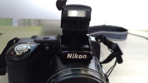 Ótima Câmera Semi Profissional Digital Nikon L830