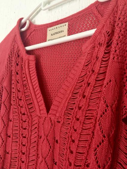 Sweater Mujer Rapsodia. Hermoso! Impecable Como Nuevo