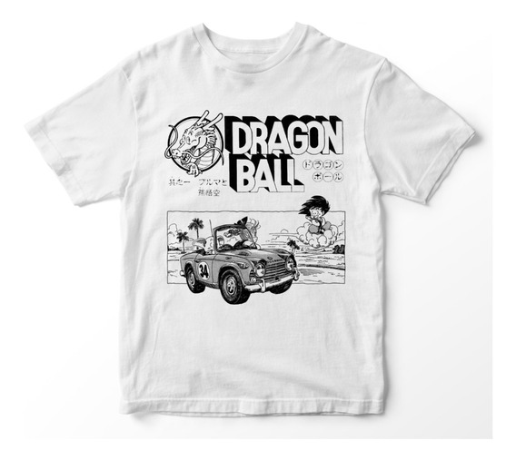 Nostalgia Shirts- Dragon Ball Vintage