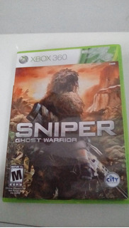 Xbox 360 Sniper Ghost Warrior Original Fisico Palermo Envio