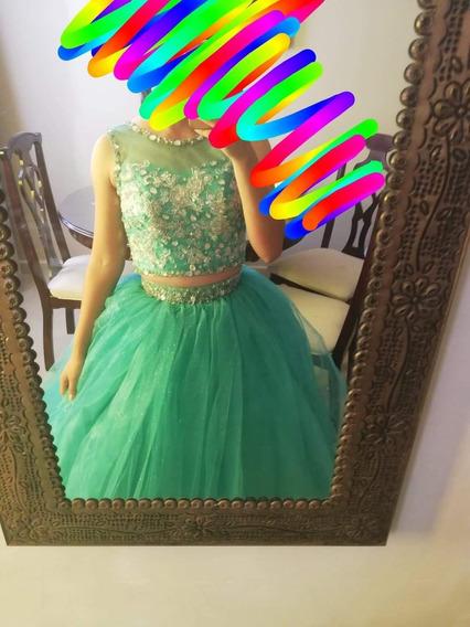 ¿vendo Vestido De Xv Años¿en Excelentes Condiciones En $250