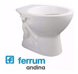 Inodoro Corto Ferrum Andina Blanco