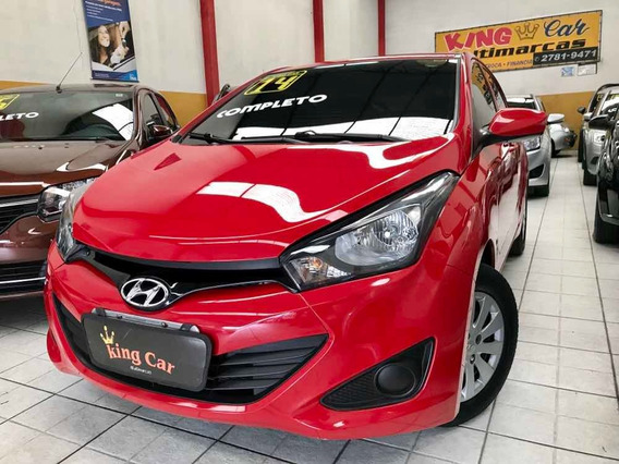 Hyundai Hb20 1.0 Comfort Plus Flex 2014 Kingcar Multimarcas
