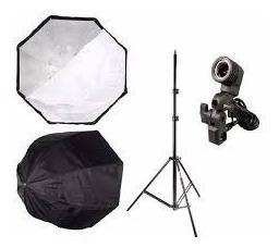 Iluminação Fotografia Filmagem Soft Sombrinha Octog 80 Cm
