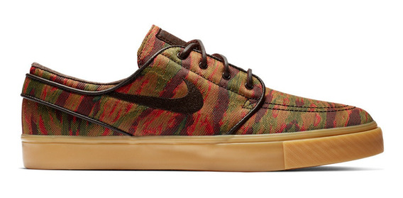 Nike Sb Zoom Stefan Janoski Canvas Rosas Zapatillas en