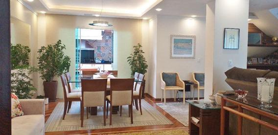 Belíssima Casa Com 3 Suítes, 5 Garagens À Venda, 190 M² Por R$ 1.850.000 - Planalto Paulista. - Ca0353