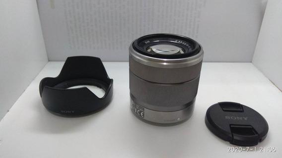 Lente Sony Mirrorless Nex Serve F3 C3 A6000 A5000 - 18-55mm