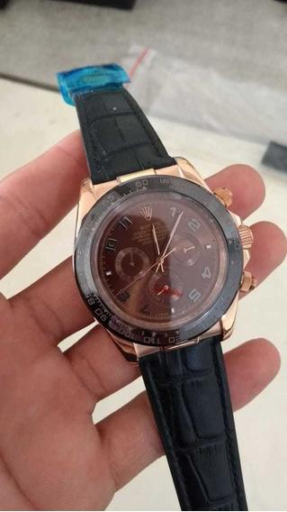 Relógio Automático Inoxidável, Safira , Pulseira Silicone