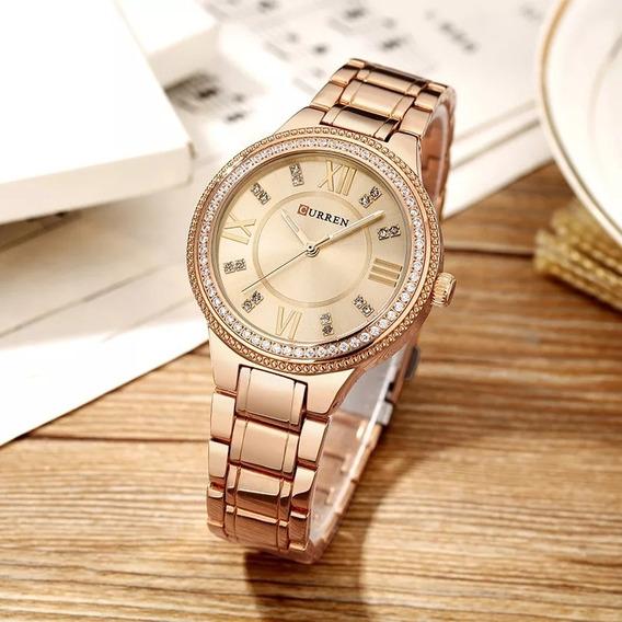 Relógio Feminino Curren 9004 Original