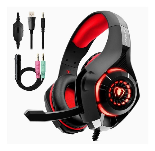 Audifonos Gamer Beexcellent Para Ps4 Xbox One Pc Mac