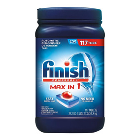 Finish Max In One Detergente Lavavajillas 117 Pzas