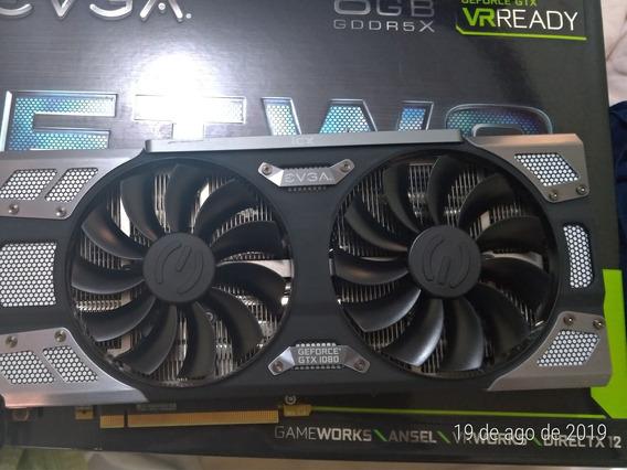 Placa De Vídeo Evga Geforce Gtx 1080 Ftw2 8gb Gddr5x