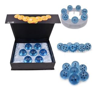 7 Esferas Dragon Ball Caja Exhibidor Azul Goku Envio Gratis