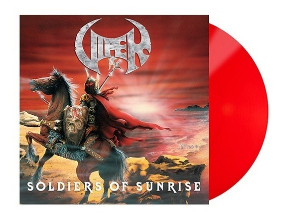 Viper Lp Soldiers Of Sunrise Vinil Red Vinil 2019 Limitado