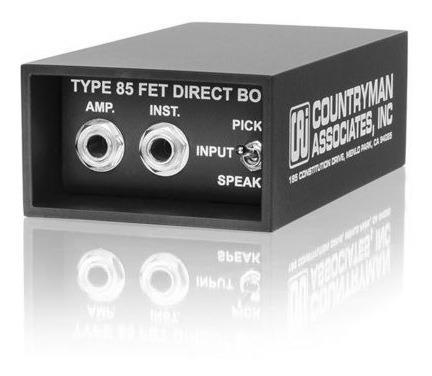 Direct Box Ativo Countryman Type 85