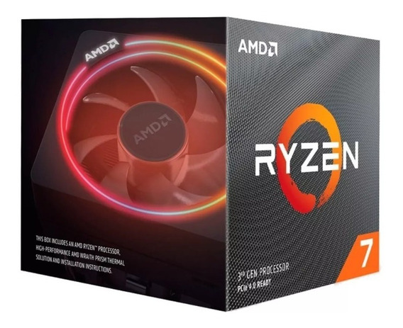 Micro Procesador Amd Ryzen 7 3700x 4.4 Ghz Am4