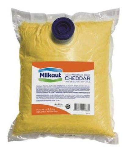Queso Cheddar Liquido Milcaut X 3.5k Oferta